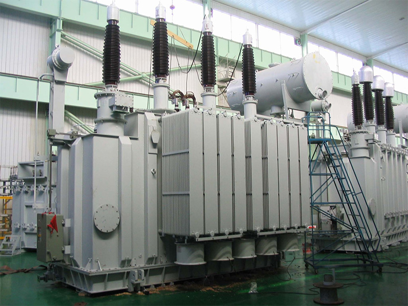 Environmentally-friendly coil iron traction transformer passed certification